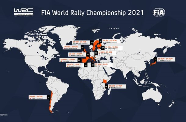 Croatia and Estonia named in 2021 WRC calendar   360 Sin Limites